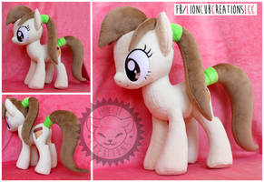 + Plush Commission: Custom Earth Pony OC + by LionCubCreations