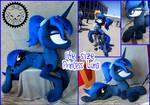 + Life Size Plush Princess Luna + by LionCubCreations