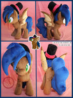 <b>+ Plush Commission 1 Of 2: Bat Pony +</b><br><i>LionCubCreations</i>