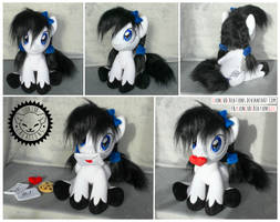 + Plush Commission: Moon Shine + by LionCubCreations