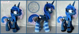 <b>+ Plush Commission: Goth Princess Luna +</b><br><i>LionCubCreations</i>