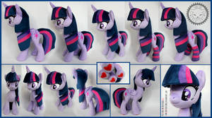 <b>+ Plush Commission: Twilight Sparkle (long Hair) +</b><br><i>LionCubCreations</i>