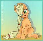 Applejack Being Cute