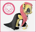 + Plush Commission: Goth Fluttershy +