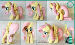 + Plush Commission 3 of 7: Fluttershy with socks +