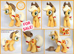 + FOR SALE: APPLEJACK PLUSH! +
