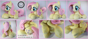 + Lying down Fluttershy Plush +