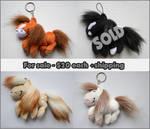 + Plush for sale: Horse Pendant + by LionCubCreations
