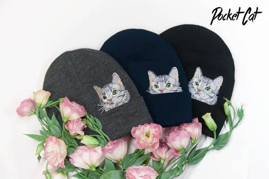 Pocket Cat Hats