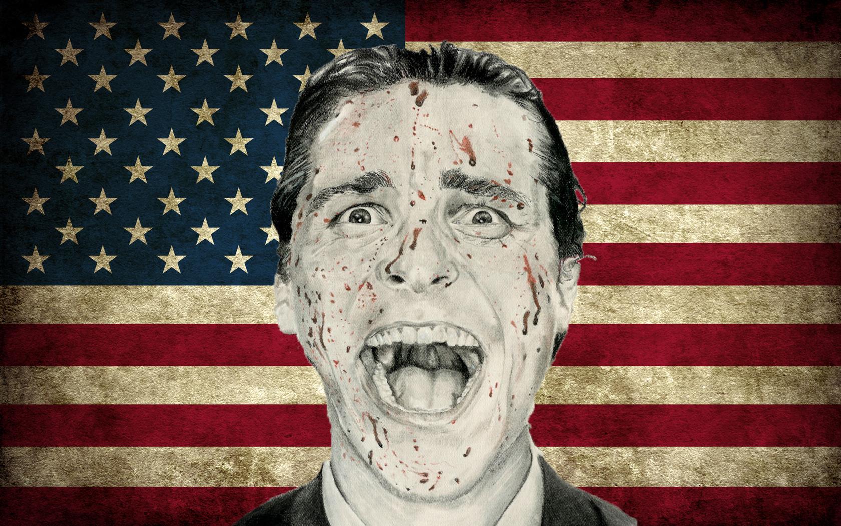 American Psycho Wallpaper by jonnysonny on DeviantArt