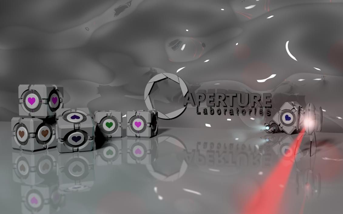 Portal 2 Wallpaper -4 by jonnysonny