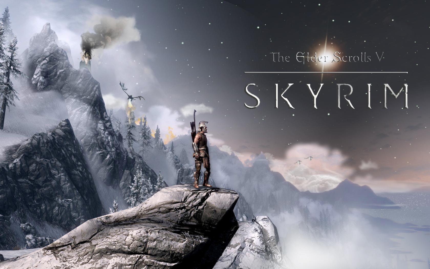 The Elder Scrolls V: Skyrim Wallpaper by jonnysonny on