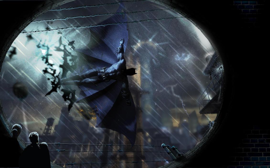 Batman: Arkham City Wallpaper by jonnysonny