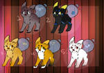 Fishtail Auction Adopts // CLOSED //