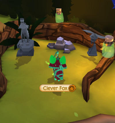 The Portal To Hell (Animal Jam : Play Wild) GLITCH by