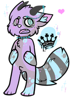 Pastel Kitty Anthro Auction - CLOSED by Mareena123