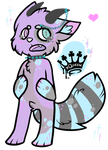 Pastel Kitty Anthro Auction - CLOSED