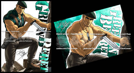 My Favorite Character(4-1): Green Beret