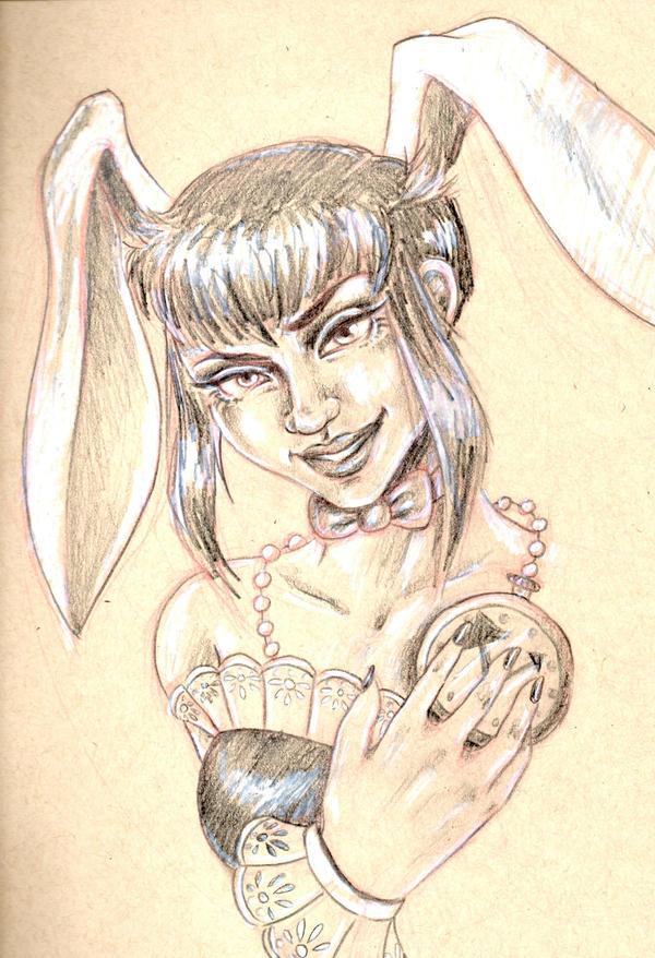 Follow The White Rabbit by LarcDEAR