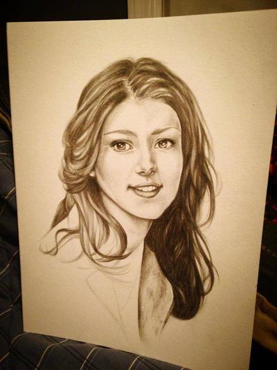 WIP Kaylee -Firefly sketch by LarcDEAR