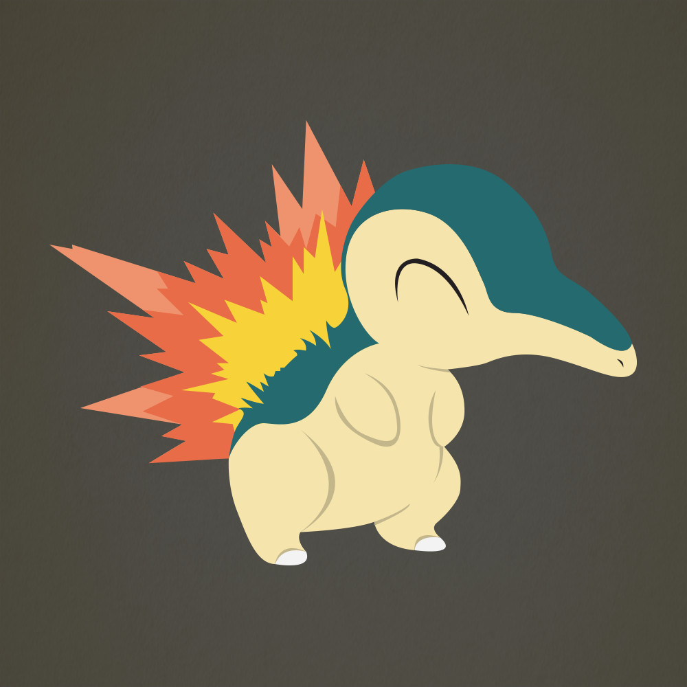 Cyndaquil Iphone Wallpaper Cyndaquil (vector) by Cyndaquil Wallpaper