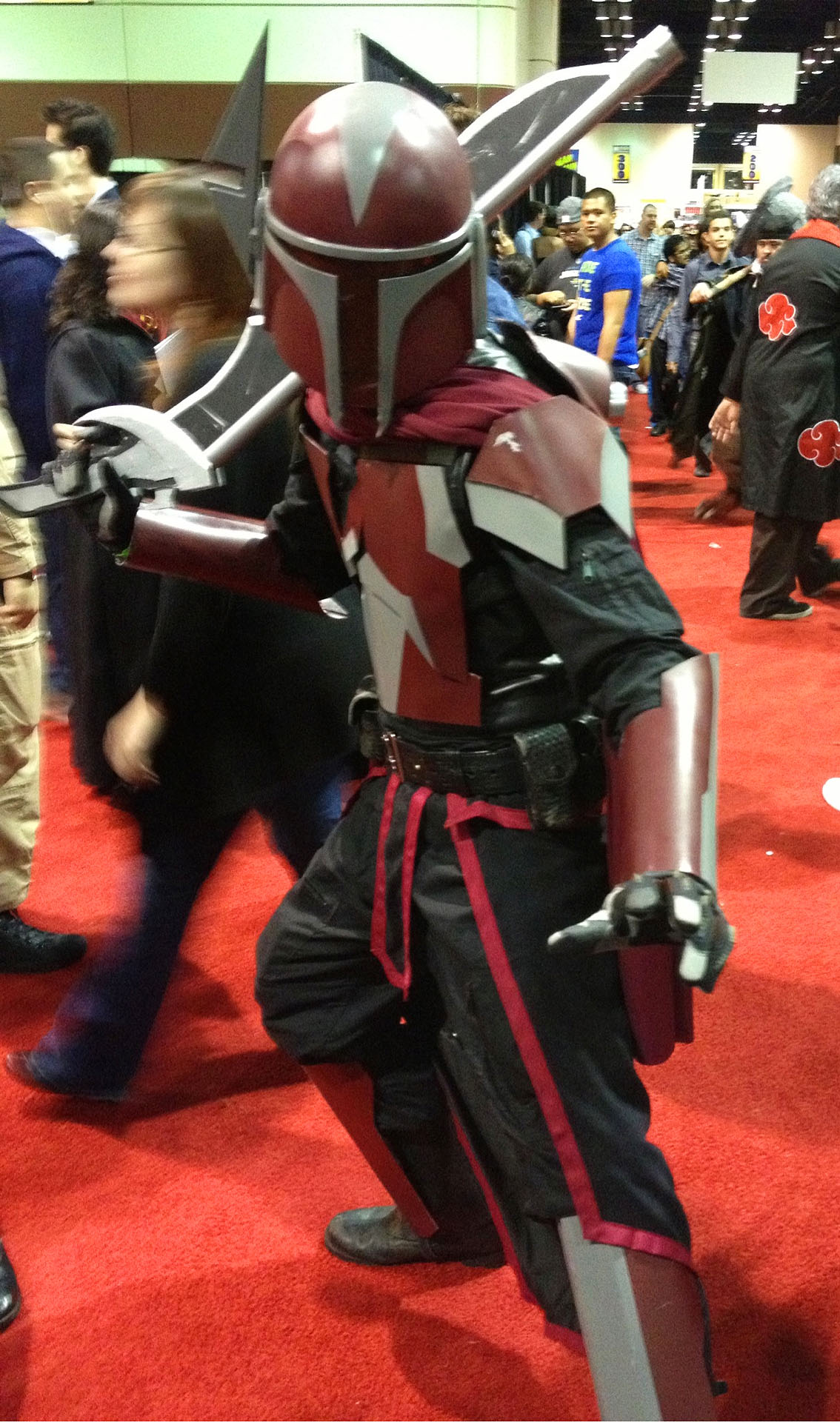 Sirus The Red Mandalorian Armor Debut By Argnarock On