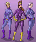 Purple Vixen and Hench Girls