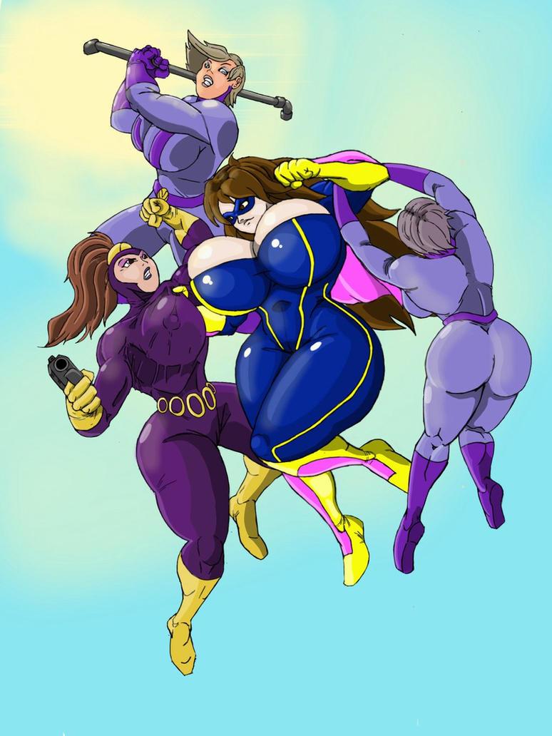 Purple Vixen Meets Mighty Morgan! by dangerfan
