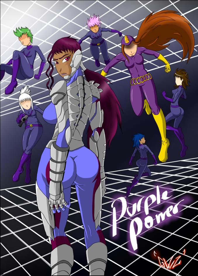 Purple Power by Gewaltzst by dangerfan