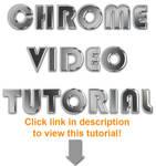 Photoshop Chrome Video Tut.
