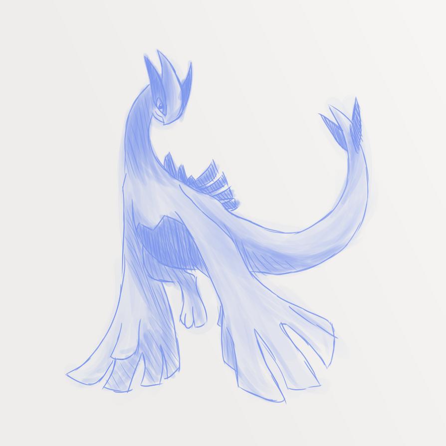 Pokemon Fanart | Lugia by Libertoasz