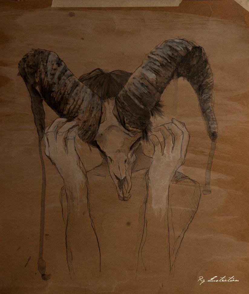 Eros (El leon y la cabra) by Rz00