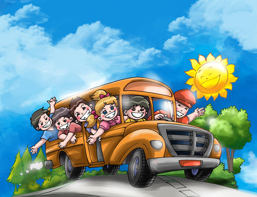 wheels on the bus by MaeztroRonnel on DeviantArt