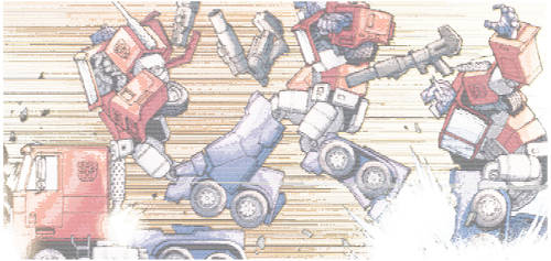 Ascii G1 Optimus Transforming Action Colourized 2