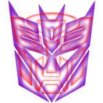 Transformers T-Shirt Logo Design inverted backgrou