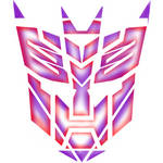 Transformers T-Shirt Logo Design logo's devided