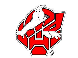 Transformers-Ghostbusters Crossover Logo