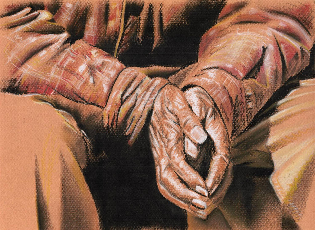 Old Hands by JudithAitken