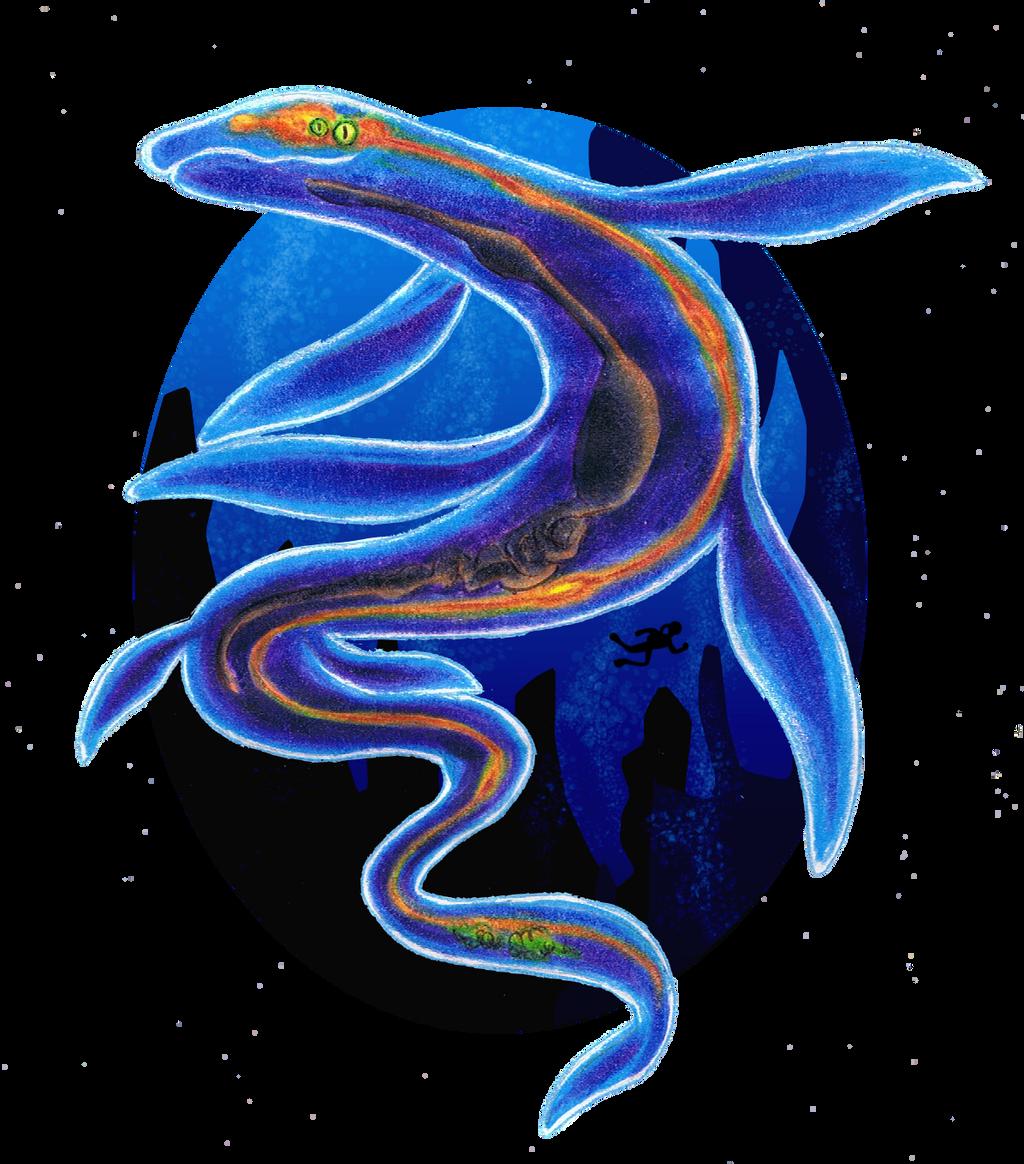 CDC June Day 5: Deeeeeeeep Sea Creature by StarMonyII