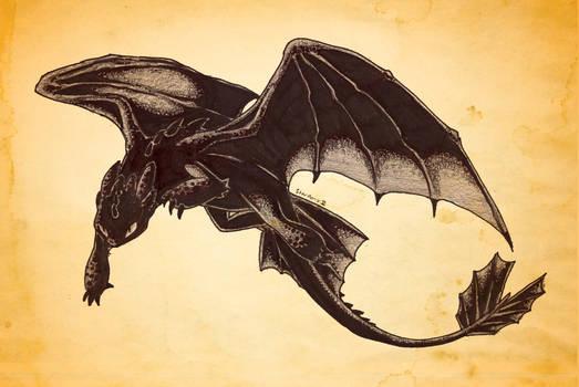 A Dragon for Week 1 - Night Fury