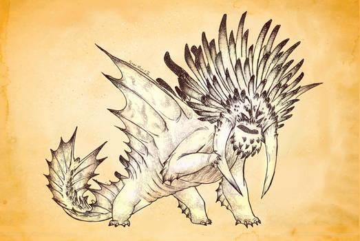 A Dragon for Week 10 - Bewilderbeast
