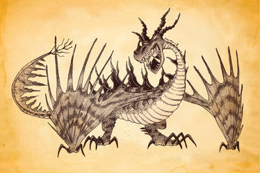 A Dragon for Week 11 - Monstrous Nightmare