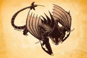 A Dragon for Week 48 - Deathgripper