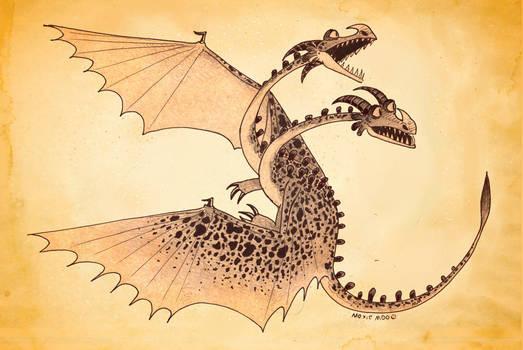 A Dragon for Week 56 - Ghastly Zapplejack