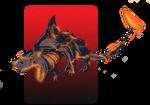 Lava Shark Dog