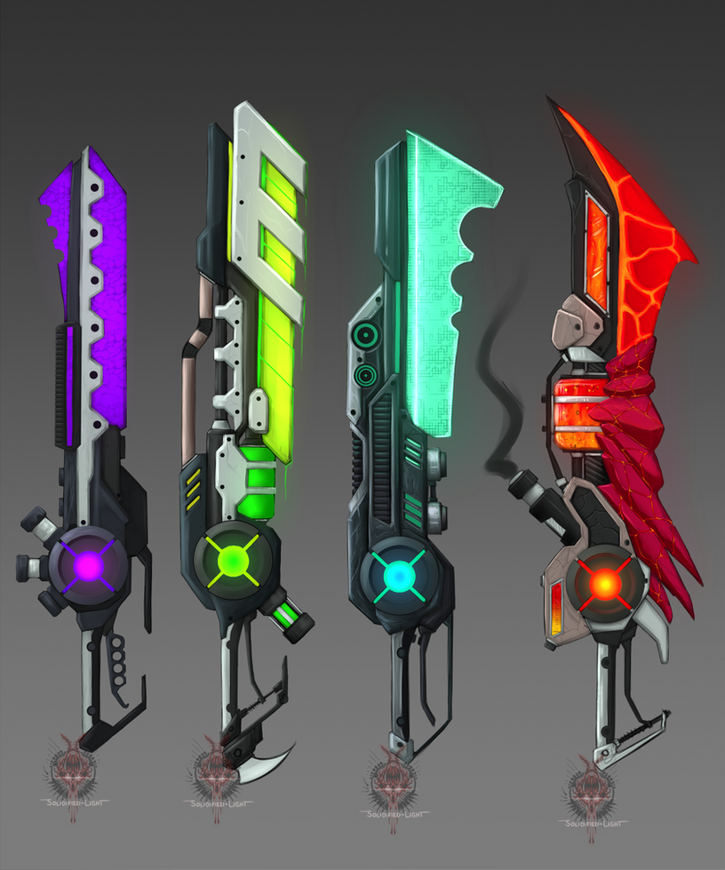 Weapon Adopts (closed) by Nano-Core