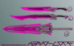 Scifi Sword Adopts (closed) by Nano-Core