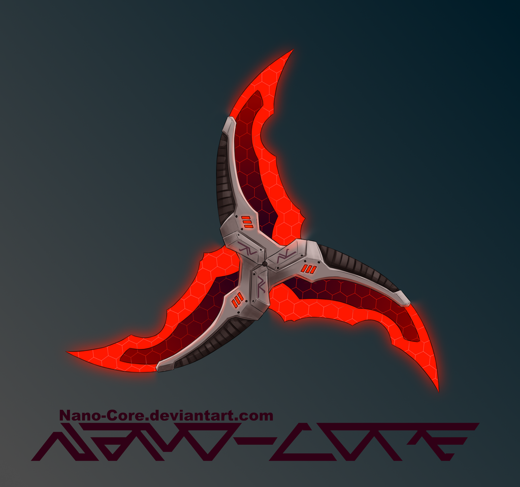 Trowing Blade Weapon Adopt (Closed) by Nano-Core