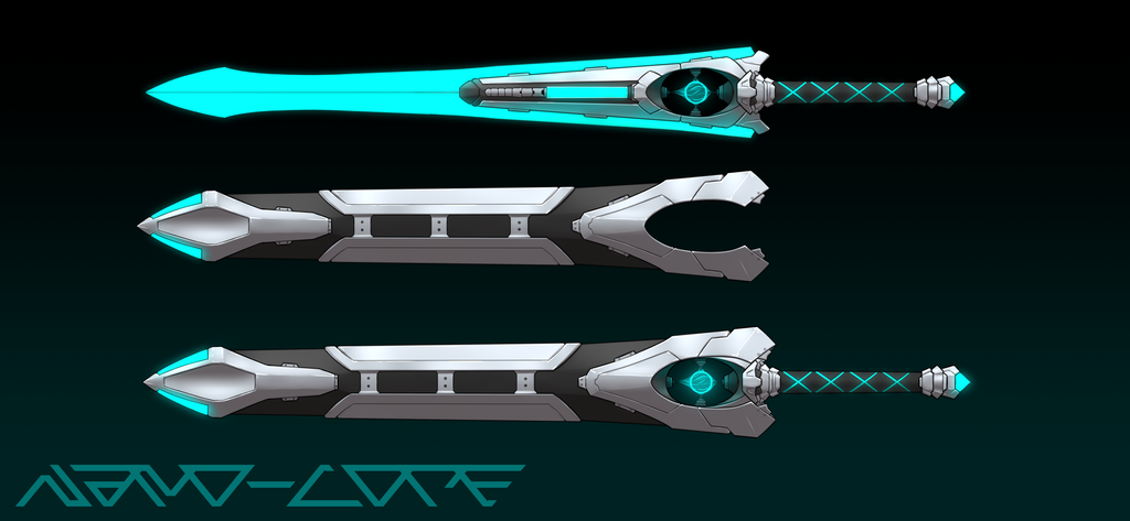 Electrosphere Blade Auction Adopt (closed) by Nano-Core