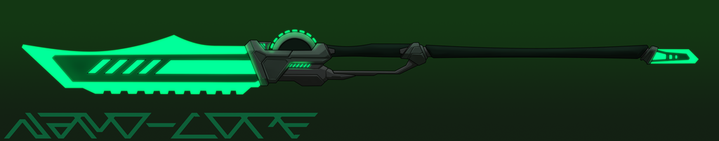 Sci-Fi Glaive Weapon Auction Adopt (closed) by Nano-Core